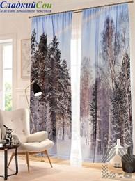 Комплект фотоштор ТомДом Сумерки в лесу
