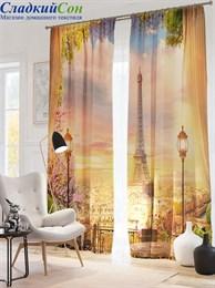 Комплект фотоштор ТомДом Париж