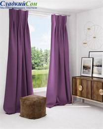 Комплект штор ТомДом Грейси фиолетовый