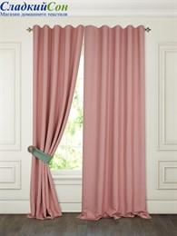 Комплект штор ТомДом Тиаго розовый