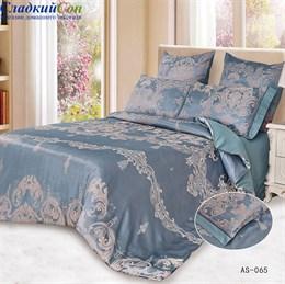 Комплект постельного белья Arlet AS-065-4 Семейный морская волна