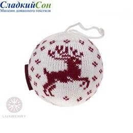 Декоративный шар Luxberry Олень белый