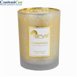 Ароматическая свеча Arya Luxury Sandal Wood TRK111300020135