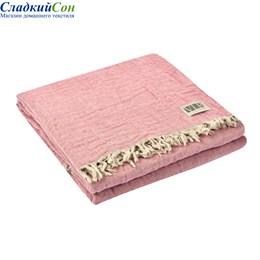 Плед Valerie Concept RIVIERA 426 розовый/серый