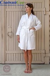 Халат Luxberry KIMONO NEW, р-р: XL цвет белый