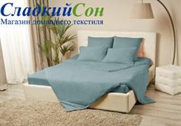 Пододеяльник MELANGE 200*220, цвет: голубая ель