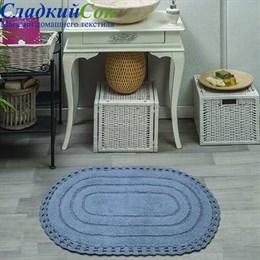 Набор ковриков для ванной Sofi de Marko YANA (темн.фиол) кружевной 60*100/50*70