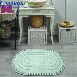 Набор ковриков для ванной Sofi de Marko YANA (ментол) кружевной 60*100/50*70