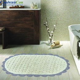 Коврик для ванной Sofi de Marko VANDA (мокко) кружевной 60*100