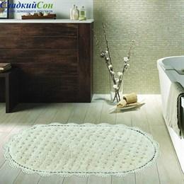 Набор ковриков для ванной Sofi de Marko VANDA (крем) кружевной 60*100/50*70