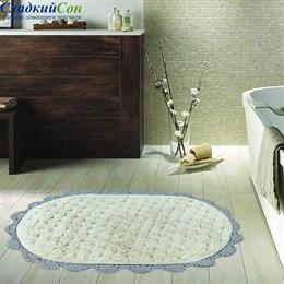 Набор ковриков для ванной Sofi de Marko VANDA (серая) кружевной 60*100/50*70