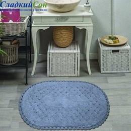 Набор ковриков для ванной Sofi de Marko AVRORA (темн.фиол) кружевной 60*100/50*70
