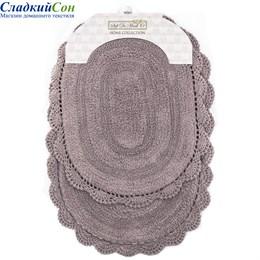 Набор ковриков для ванной Sofi de Marko DIANA (мокко) кружевной 50*80/45*60