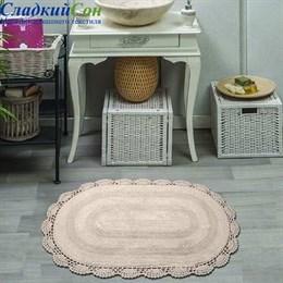 Набор ковриков для ванной Sofi de Marko DIANA (стоун) кружевной 50*80/45*60