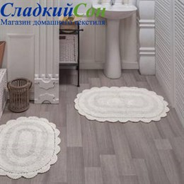 Набор ковриков для ванной Sofi de Marko DIANA (крем) кружевной 50*80/45*60