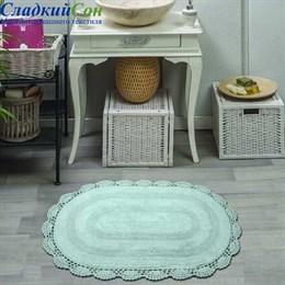 Набор ковриков для ванной Sofi de Marko DIANA (ментол) кружевной 50*80/45*60
