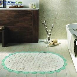 Набор ковриков для ванной Sofi de Marko VANDA (ментол) кружевной 60*100/50*70