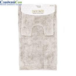Набор ковриков для ванной Sofi de Marko LUNA (серый) 60*100/50*50