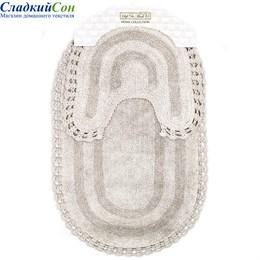 Набор ковриков для ванной Sofi de Marko OLIVIA (серый) 60*100/50*50