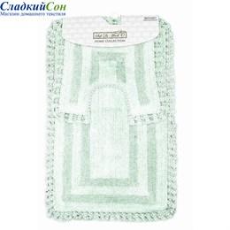 Набор ковриков для ванной Sofi de Marko REBECCA (ментол) 60*100/50*50