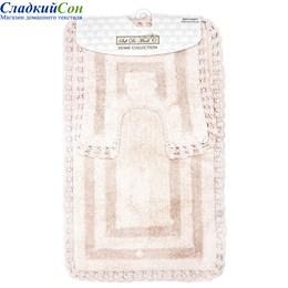 Набор ковриков для ванной Sofi de Marko REBECCA (пудра) 60*100/50*50