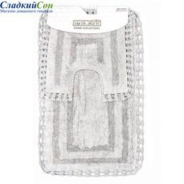 Набор ковриков для ванной Sofi de Marko REBECCA (серый) 60*100/50*50