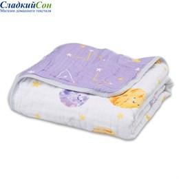 Детское муслиновое одеяло Qwhimsy Космос QBL002