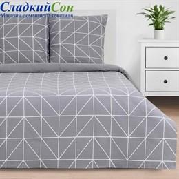 Комплект постельного белья Этель ETK-001-4 Night haze Семейный серый