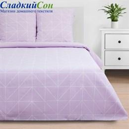 Комплект постельного белья Этель ETK-002-2 Purple haze 2-спальный сиреневый