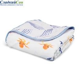 Детское муслиновое одеяло Qwhimsy Океан QBL001
