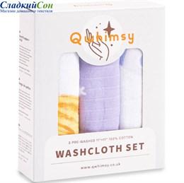 Набор полотенец для лица Qwhimsy Космос QWC004 3 шт.
