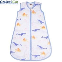Спальный мешок детский Qwhimsy Океан QSLB001