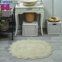 Набор ковриков для ванной Sofi de Marko MELINDA (стоун) кружевной 60*100/50*70