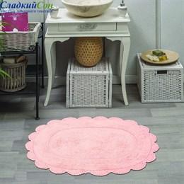 Набор ковриков для ванной Sofi de Marko MELINDA (пудра) кружевной 60*100/50*70