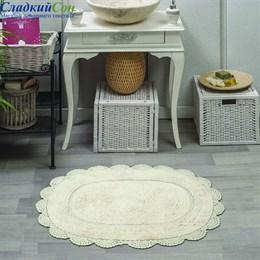 Набор ковриков для ванной Sofi de Marko MELINDA (крем) кружевной 60*100/50*70