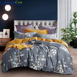 Комплект постельного белья Asabella 1308-6 Евро серый