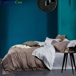 Комплект постельного белья Asabella 1391-4S 1,5-спальный коричневый