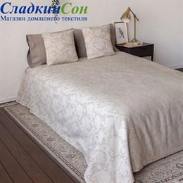 Покрывало Luxberry LUKUM 260*260 цвет натуральный/белый