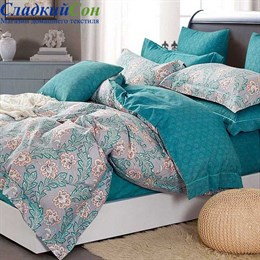Комплект постельного белья Asabella 1359-7 Семейный мультитон