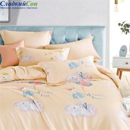 Комплект постельного белья Asabella 1419-4S 1,5-спальный персиковый