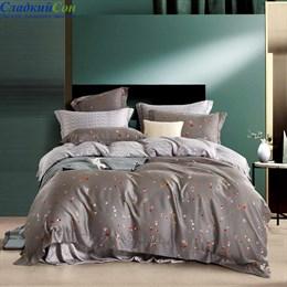 Комплект постельного белья Asabella 1449-6 Евро серый