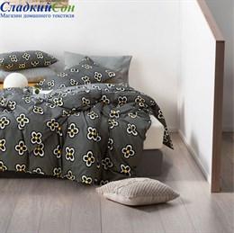 Комплект постельного белья Asabella 1354-6 Евро антрацит