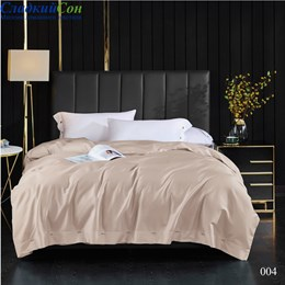 Комплект постельного белья Kingsilk ELS-004-3 Евро какао