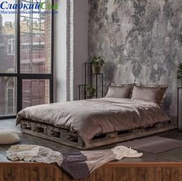 Комплект постельного белья Luxberry DAILY BEDDING, р-р: семейный шоколад Семейный коричневый