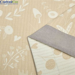 Шелковое одеяло Asabella 1511-OS 160*220 летнее / легкое бежевое