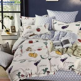 Комплект постельного белья Asabella 1459-4S 1,5-спальный белый