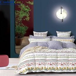 Комплект постельного белья Asabella 1474-4S 1,5-спальный мультитон