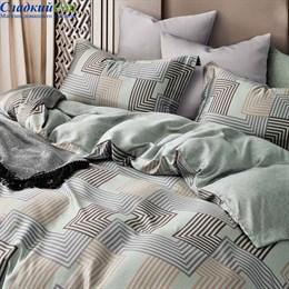 Комплект постельного белья Asabella 1446-6 Евро серый