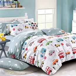 Детское постельное белье Asabella 1357-4XS 1,5-сп. мультитон