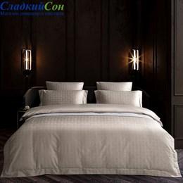 Комплект постельного белья Asabella 1514-4S 1,5-спальный бежевый